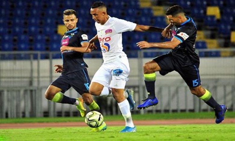 En accueillant le CAYB en match retard de la 18e journée, les Verts se sont imposés grâce à Hafidi et Ahaddad. Ph : DR