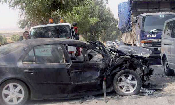 Accidents de la circulation : 9 morts et 1.828 blessés en périmètre urbain en une semaine