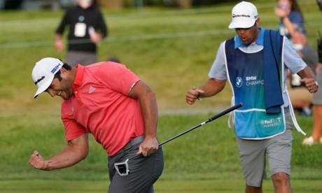 Golf : Jon Rahm s'impose au BMW Championship