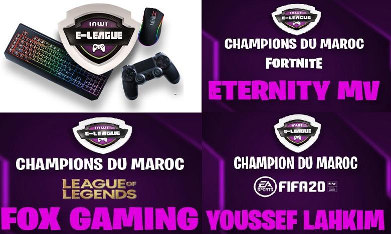 Gaming: Succès renouvelé pour la 4e inwi e-league !