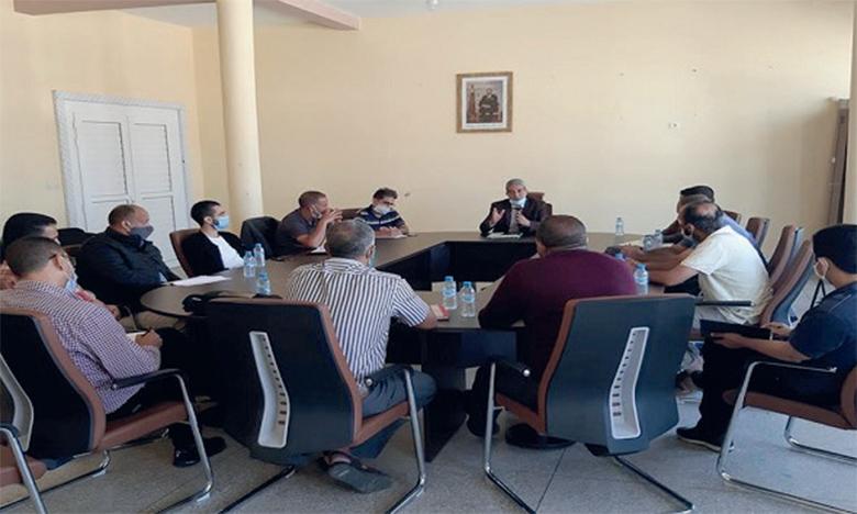 Réunion du Comité provincial  de coordination avec les syndicats de l'enseignement