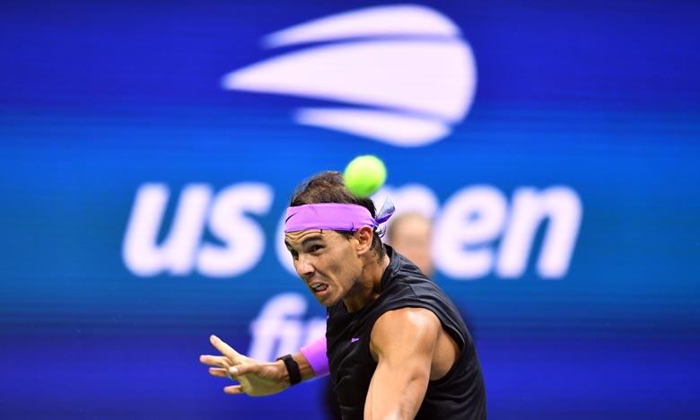 C'est la première fois depuis 1999 que  Nadal ne figure pas dans le tableau du Grand Chelem américain. Ph :  AFP