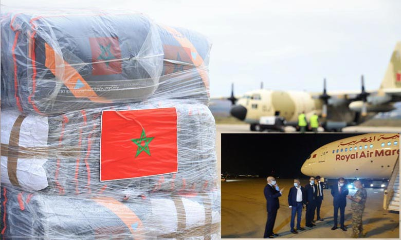 Le gouvernement libanais estime que l'initiative marocaine constitue une expression de solidarité de la part du Maroc  Ph : MAP