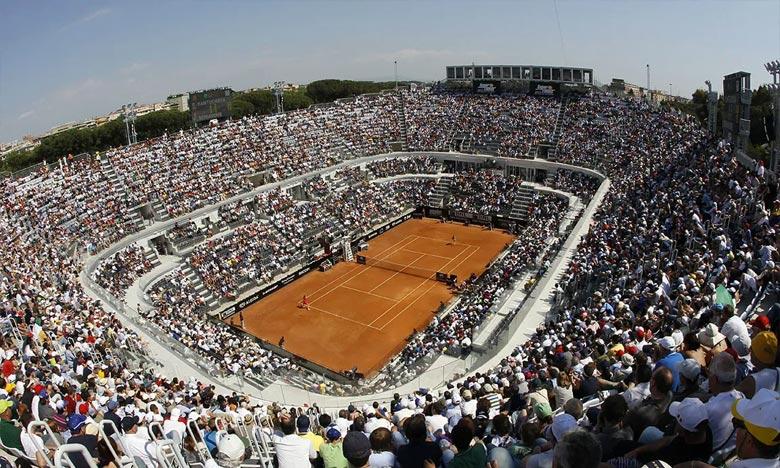 Le tournoi italien, disputé sur terre battue, devait débuter au Foro Italico le 11 mai avant d'être décalé au mois de septembre en raison de la pandémie de coronavirus. Ph : DR