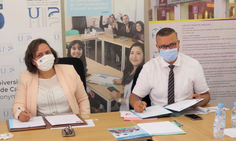 Mise en place d'une Agence Anapec  au sein de l'Université Hassan II