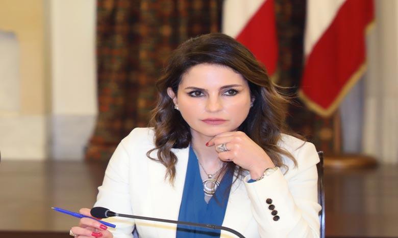 «Je m'excuse auprès des Libanais, nous n'avons pas pu répondre à leurs attentes», a déclaré Manal Abdel Samad, ministre de l'Information libanaise,. Ph :  AFP