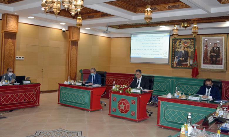 Lors du conseil d'administration, toutes les mesures de sécurité ont été prises conformément à l'état d'urgence sanitaire.