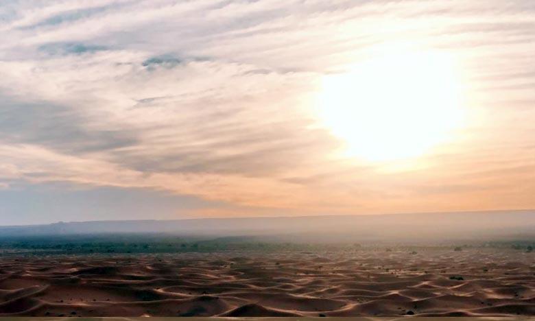 La DGM prévoit pour la journée de ce lundi, des températures de 38/43°C sur l'Oriental, Chiadma, les plaines de Tadla, de Tensift et de Rehamna, les plateaux de phosphates et d'Oulmès et le Saïss. Ph : DR