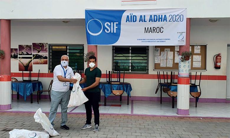 L'Association Sanad au chevet des personnes démunies