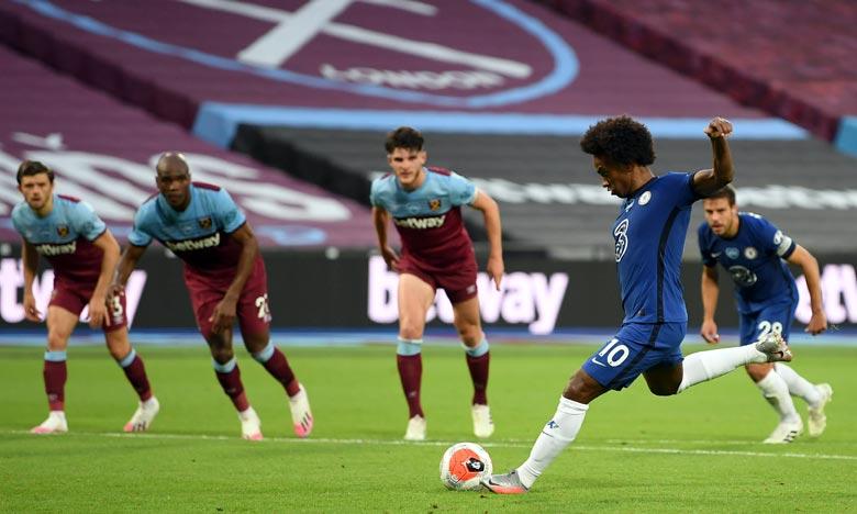 Arrivé à Chelsea en 2013, Willian a remporté deux titres de champion d'Angleterre, une Coupe d'Angleterre et une Europa League. Ph : AFP