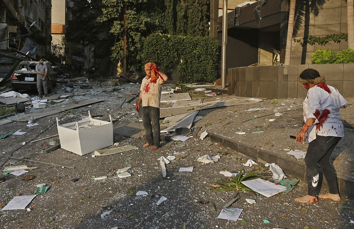 La femme marocaine blessée travaille pour une Organisation des Nations Unies à Beyrouth. Ph. AFP