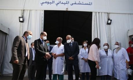 Saïd Ahmidouch visite plusieurs structures hospitalières à Casablanca