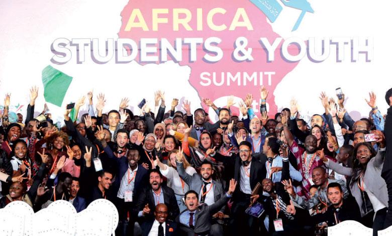 Clôture des travaux de la 8e édition du Sommet des étudiants et de la jeunesse d'Afrique.