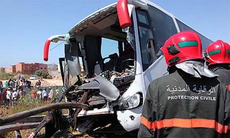 Douze morts et trente-six blessés dans un accident de la circulation