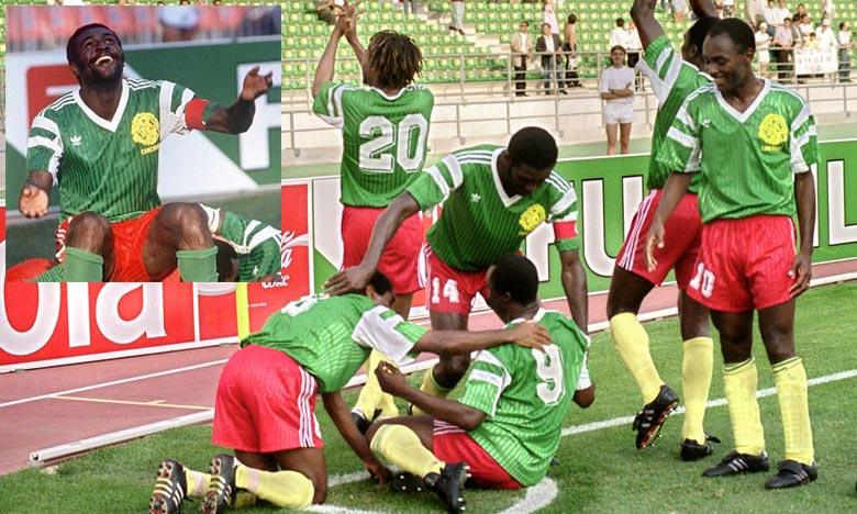 Avec Stephen Tataw comme défenseur, le Cameroun avait remporté la Coupe d'Afrique des nations organisée en 1988 au Maroc. Ph : DR