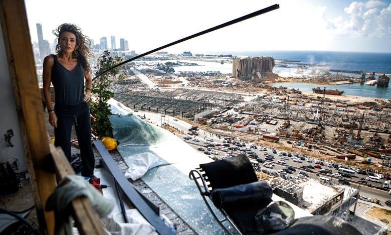 Cinq jours après la terrible explosion qui a ravagé Beyrouth, la Communauté internationale a mobilisé une aide d'urgence de 250 millions d'euros, promettant qu'elle sera directement distribuée à la population. Ph : AFP