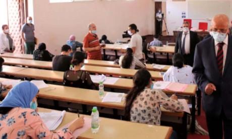 Mobilisation des enseignants pour le concours commun d'accès aux Facultés de médecine