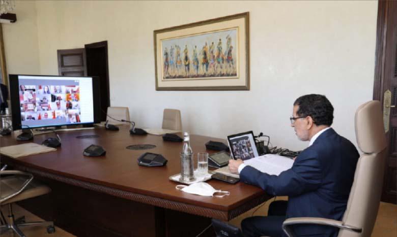 Le Chef de l'Exécutif appelle le gouvernement à se concentrer sur les priorités fixées par le Souverain dans le discours de la Fête du Trône