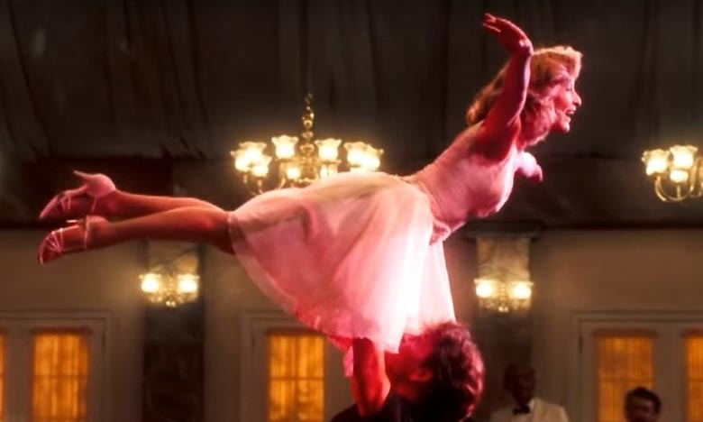 Le long-métrage «Dirty Dancing», qui était un film à petit budget, a rapporté plus de 210 millions de dollars à travers le monde. Ph : DR