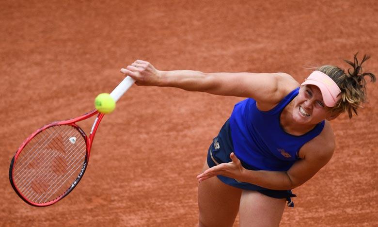 Tennis: Fiona Ferro entre dans le top 50 du classement WTA
