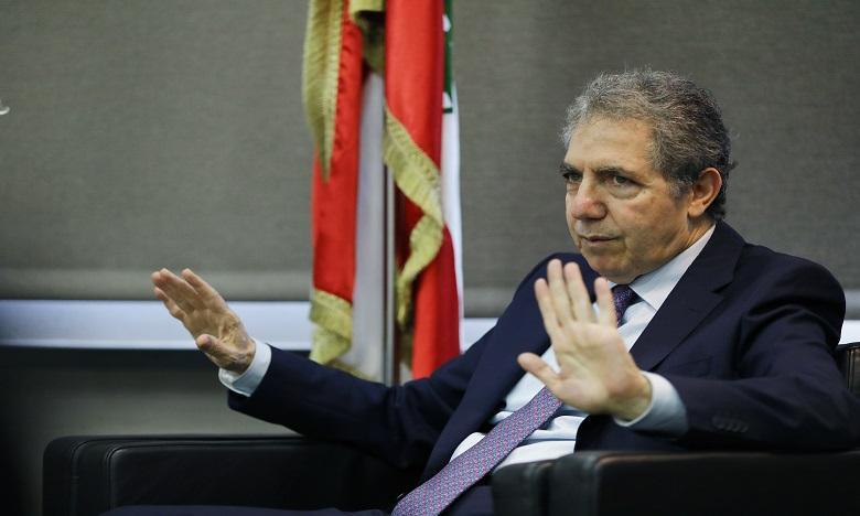 Ghazi Wazni est le quatrième membre du gouvernement à claquer la porte à la suite des explosions de Beyrouth. Ph. AFP