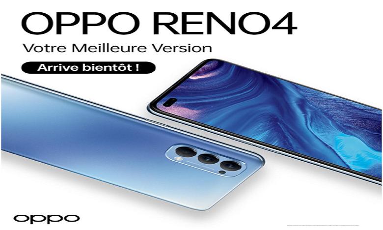Oppo Reno4  arrive au Maroc