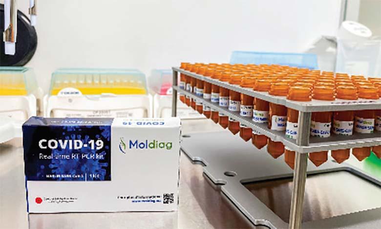 MAScIR lance la production à grande échelle du test PCR Covid-19 100% marocain