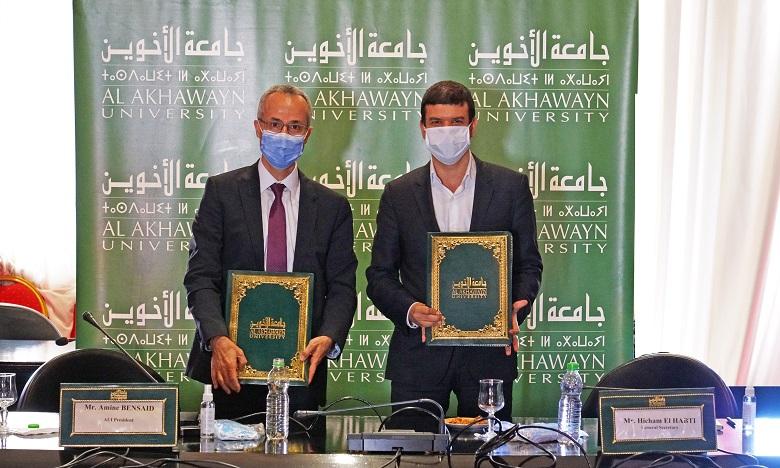 Al Akhawayn et UM6P s'allient pour la promotion de la recherche et de l'innovation
