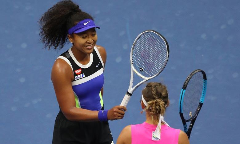 A 22 ans, Naomi Osaka, déjà lauréate à Flushing Meadows en 2018 et à l'Open d'Australie en 2019, retrouvera lundi le 3e rang au classement WTA. Ph :  AFP