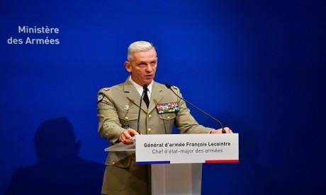 Le général d'armée François Lecointre, chef d'état-major des Armées françaises, en visite officielle au Maroc