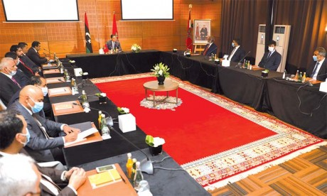 Les délégations libyennes se félicitent de la volonté sincère  du Maroc de trouver une solution à la crise libyenne