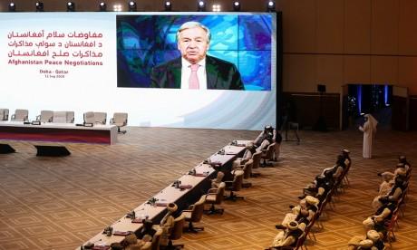Ouverture de pourparlers historiques sur l'Afghanistan à Doha