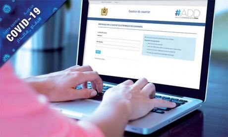 Près 900 administrations ont souscrit aux plateformes «bureau d'ordre digital» et «parapheur électronique» en six mois