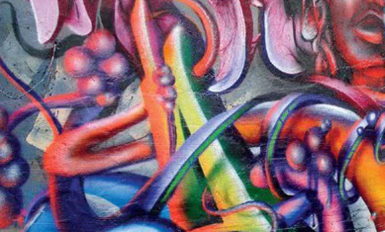 Le Graffiti pour donner espoir,  beauté et vie à la ville