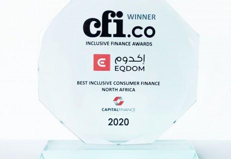 Inclusion financière : Eqdom distinguée par Capital Finance International
