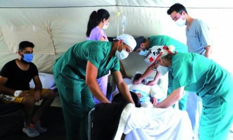 Environ 14.830 personnes ont bénéficié de plus  de 28.600 prestations médicales