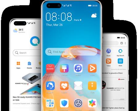Petal Search, le widget de recherche de Huawei intégré au nouveau Y9a