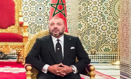 Message de condoléances et de compassion de S.M. le Roi à la famille de l'artiste Abdeljebbar Louzir