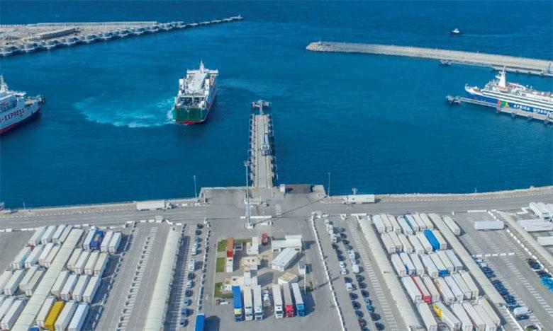 Tanger Med premier port à conteneurs en Afrique