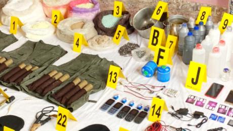 BCIJ : Découverte à Témara d'un véhicule frigorifique contenant des substances explosives et inflammables