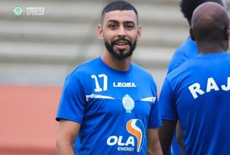 Raja: Mahmoud Benhalib reprend les entraînements avec l'équipe première