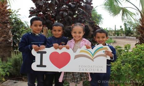 Nouvelle distinction de la Fondation Zakoura à travers son programme Aneer