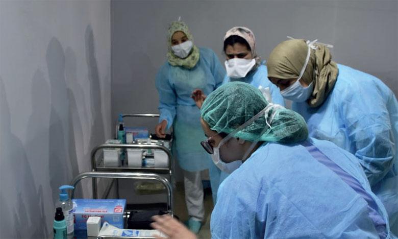 Le Conseil international des infirmières estime à plusieurs milliers le nombre de morts parmi les 20 millions d'infirmiers et infirmières qu'il représente.                         Ph. Seddik