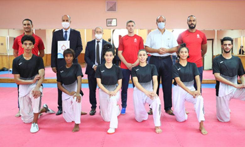 Ifrane : L'équipe nationale de taekwondo en préparation pour les Jeux olympiques Tokyo 2021.