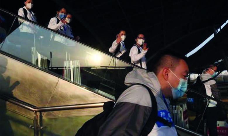 Wuhan accueille  son premier vol international depuis janvier