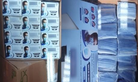 Casablanca: Un individu interpellé pour escroquerie et commercialisation de faux masques de protection