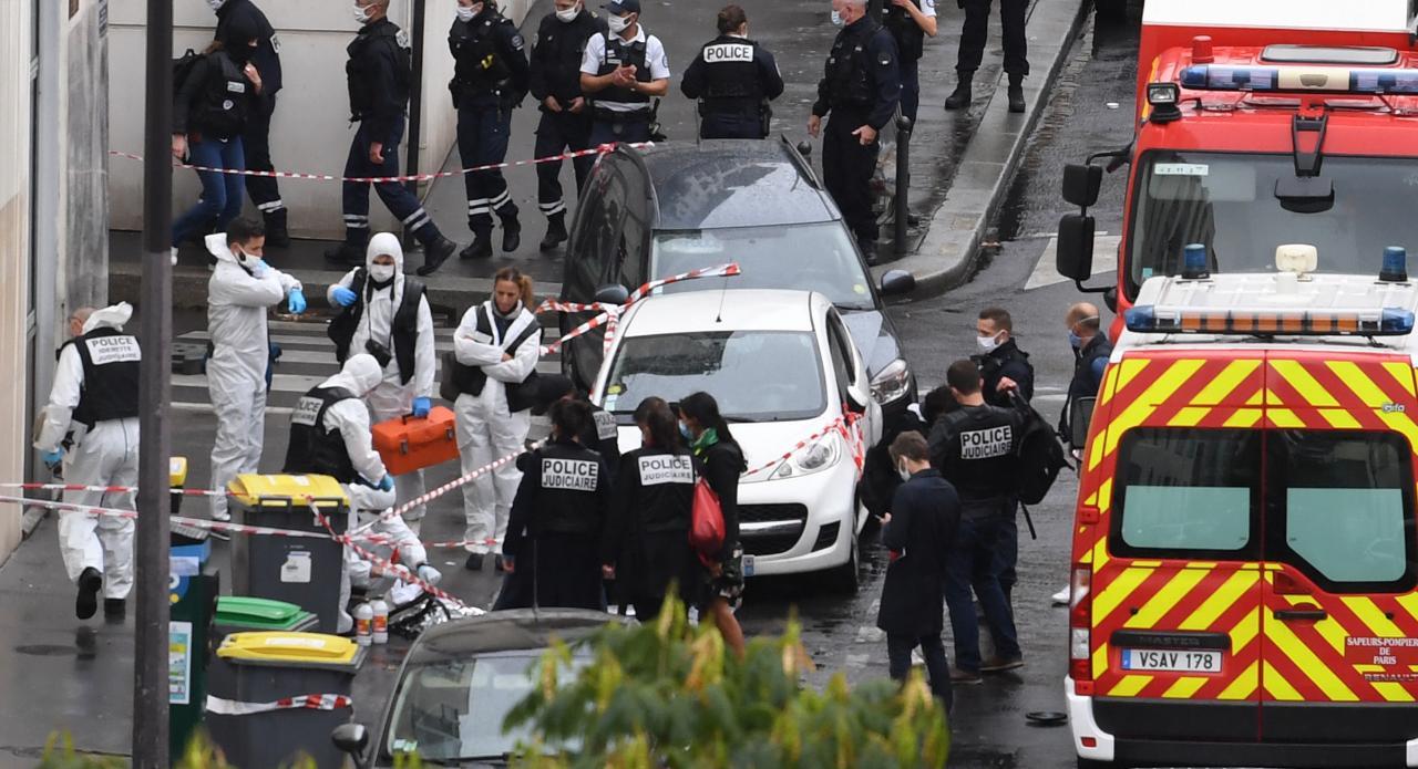 Attaque au hachoir à Paris : le principal suspect visait Charlie Hebdo