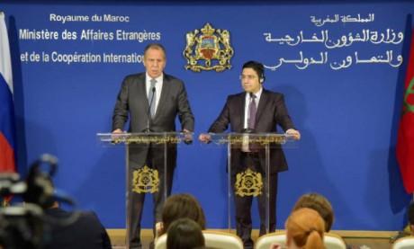Le ministère russe des affaires étrangères relève l'engagement de Rabat et Moscou à approfondir le dialogue politique sur les principales questions internationales et régionales
