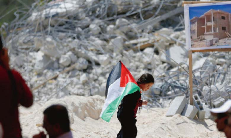 Hausse des destructions  par Israël durant la pandémie