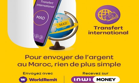 inwi money lance la réception du transfert international
